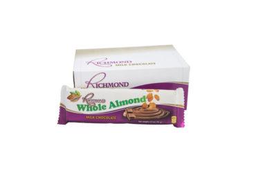Richmond Whole Almond – 70g (12 Pack)
