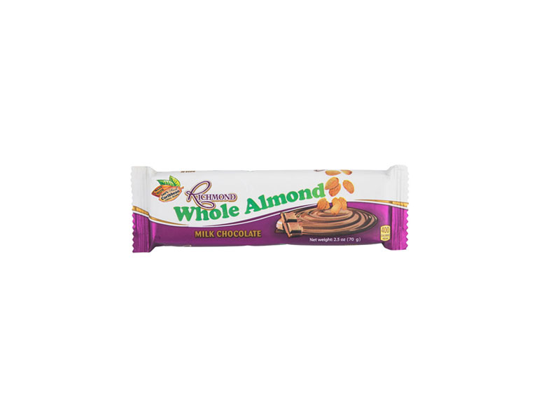 Richmond Whole Almond Chocolate Bar