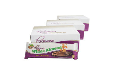 Richmond Whole Almond – 70g (Triple 12 Pack)