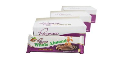 Richmond Whole Almond – 70g (Triple 12 Pack)
